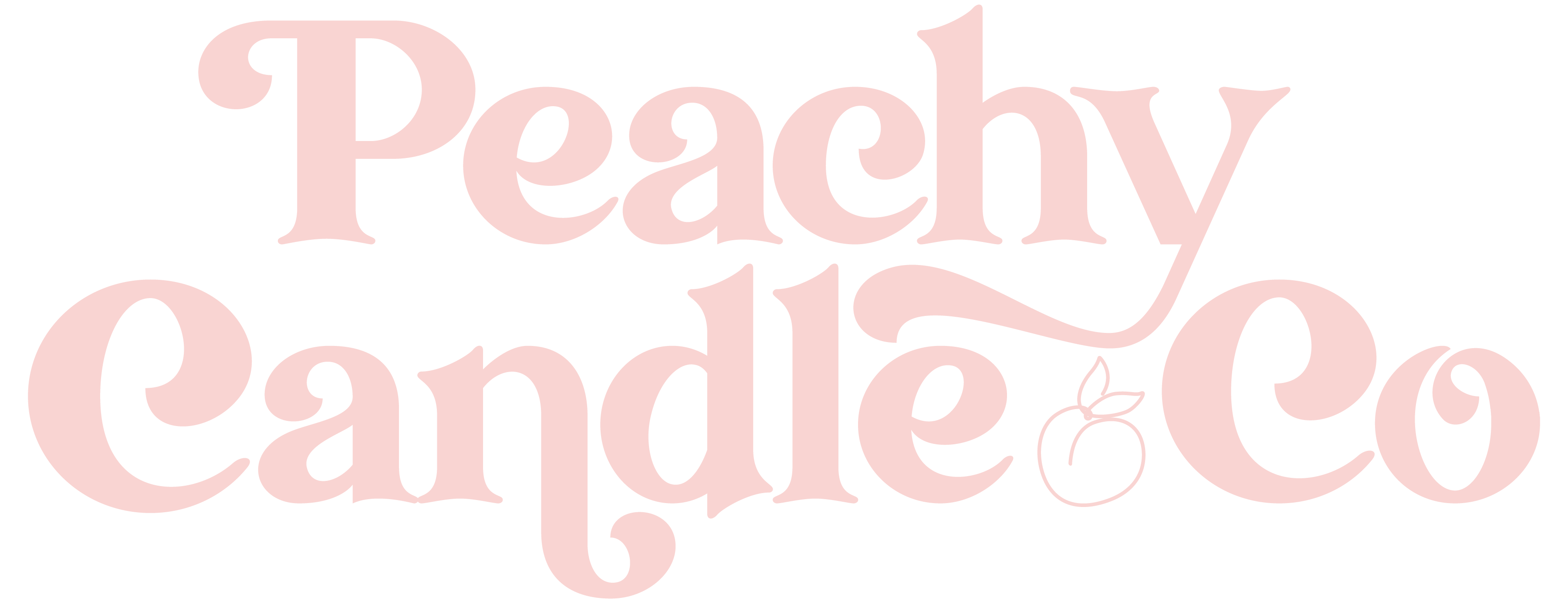 Peachy Candle Co Watermark-Candy_Alternate Logo
